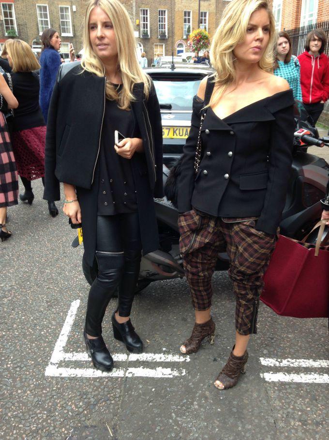 lfw peti dan 2 Ekskluzivno: Peti dan London Fashion Week a