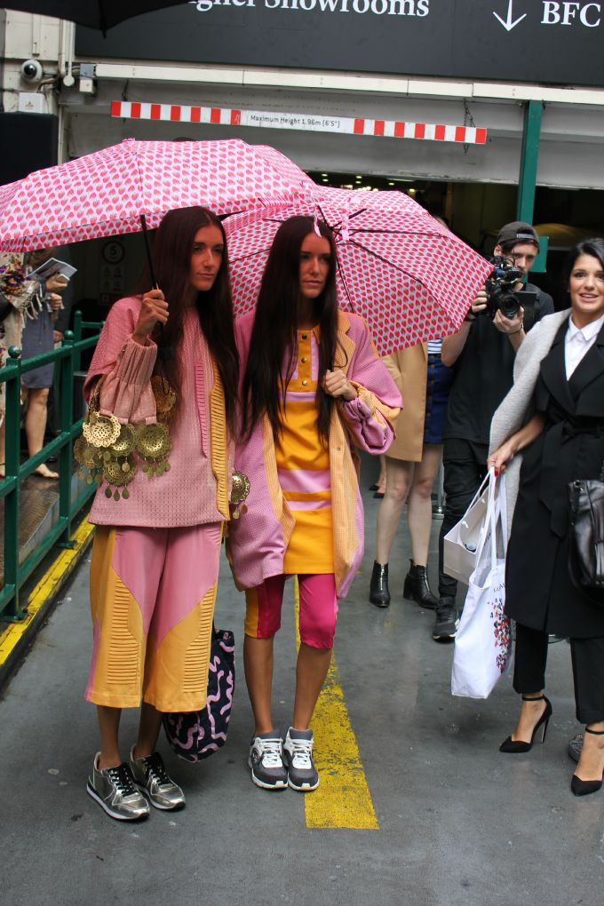 london fashion week 1 Ekskluzivno: Počeo je London Fashion Week!