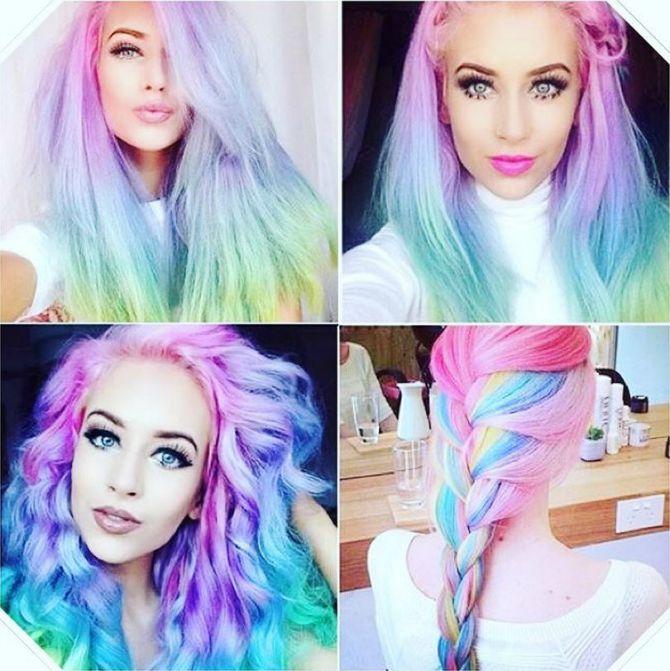 opal trend u bojenju kose Opal trend   za žene koje vole upadljivu boju kose