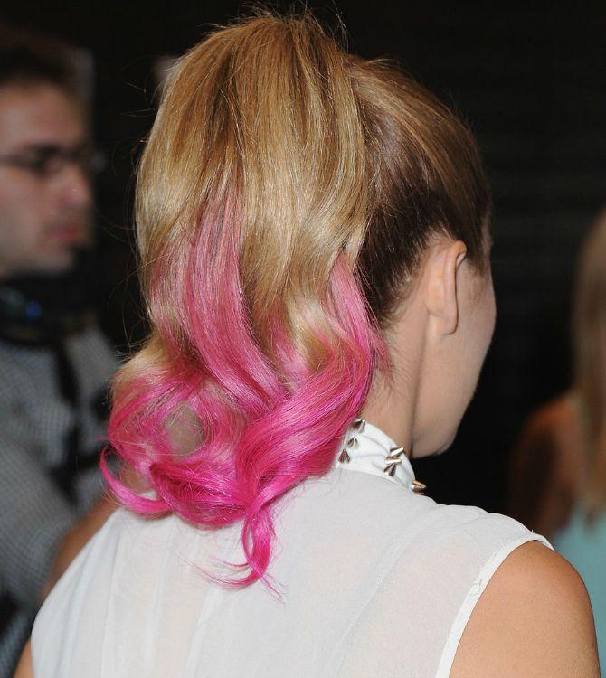 roze pramenovi Boje kose koje će dominirati ove jeseni