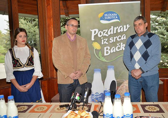 Bojan Milenkovic regionalni menadžer kategorije mleka Sa naših salaša stiže mleko pravog vojvođanskog kvaliteta – Zdravo!
