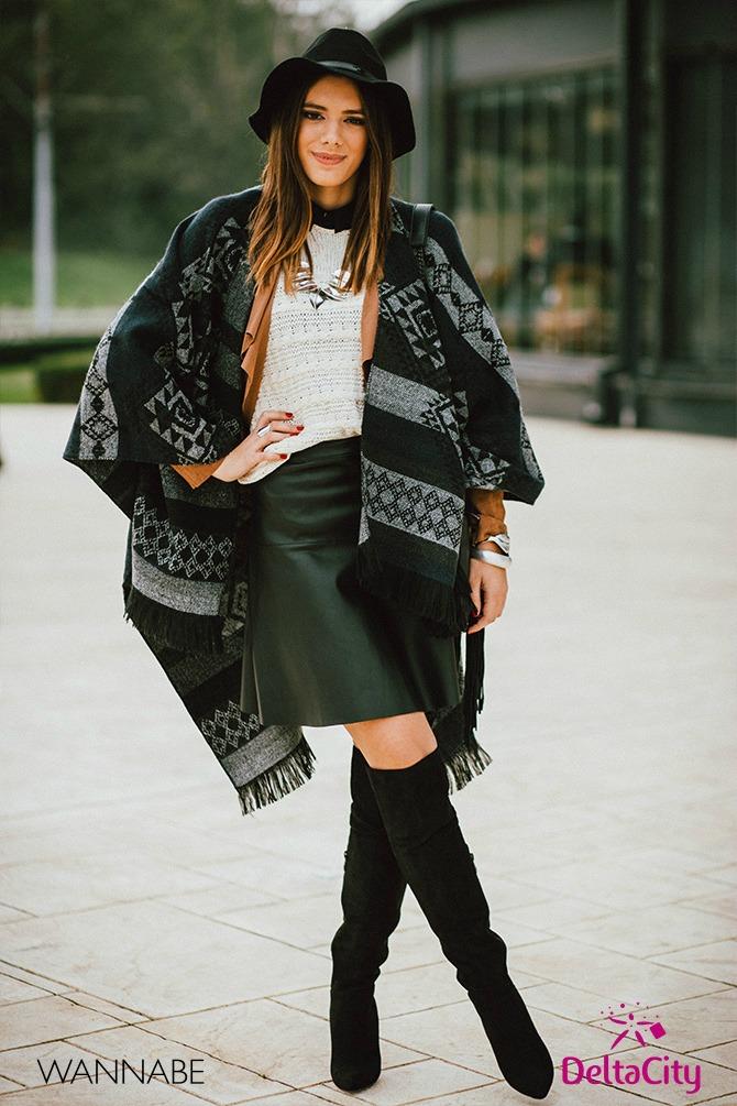 Delta City modni predlog Delta City modni predlog: Stilizovana gradska dama