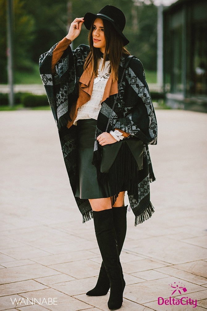 Delta City modni predlog1 Delta City modni predlog: Stilizovana gradska dama