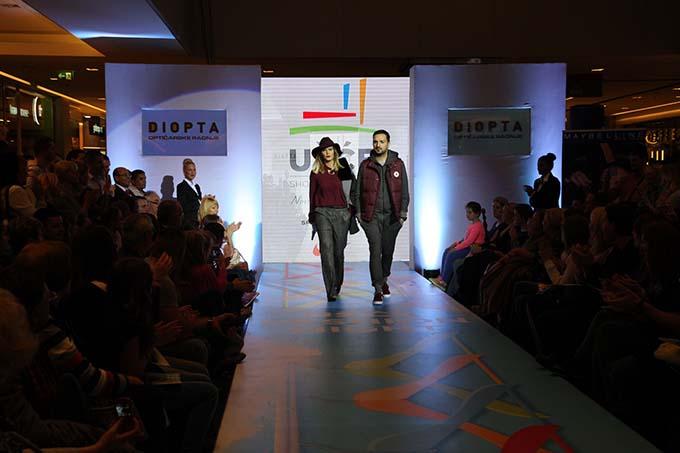 Filip Jovanović novinarAna Bebić pevačica Održana još jedna manifestacija Ušće Fashion Night