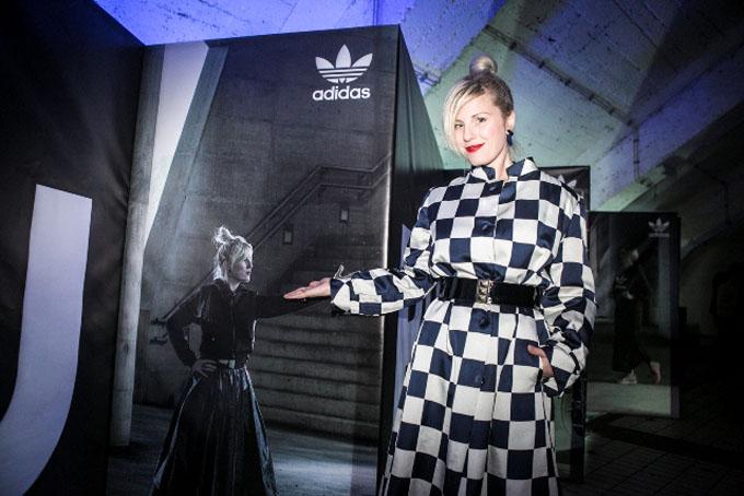 Ida Prester adidas predstavio novu modnu ikonu   Tubular