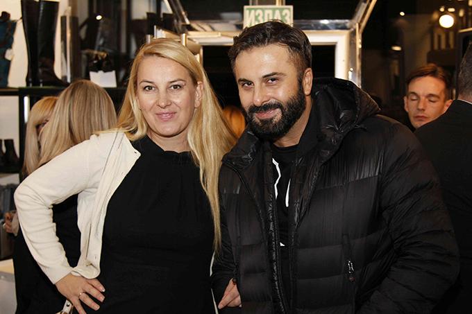 Jelena Gajšek i Bata Spasojević  Otvorena nova prodavnica FLY LONDON u Beogradu