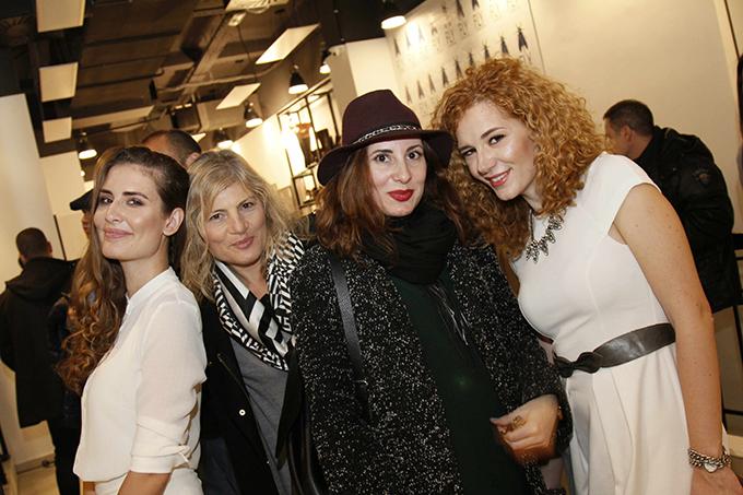 Jelena Višnjić Ivana Marinković Mandić i Aleksandra Ivanović  Otvorena nova prodavnica FLY LONDON u Beogradu