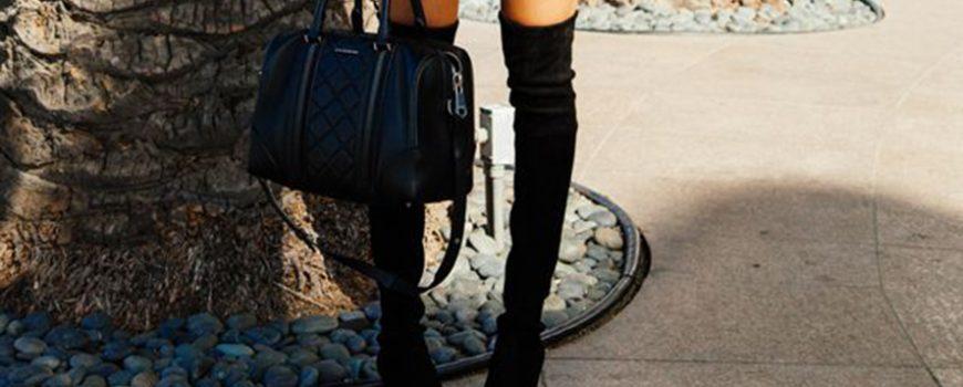 Kako nositi čizme preko kolena