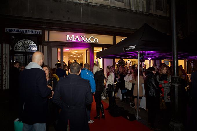 MaxCo Otvaranje radnje 1 Otvorena ekskluzivna Max&Co. prodavnica u Beogradu
