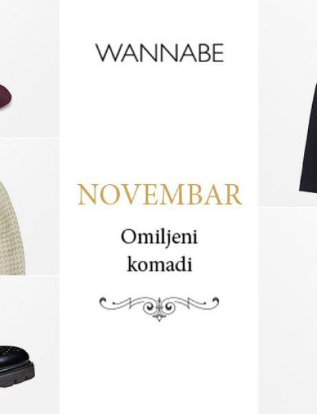 Omiljeni modni komadi za novembar