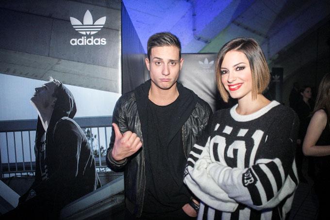 Slaven Doslo i Sara Jovanovic adidas predstavio novu modnu ikonu   Tubular