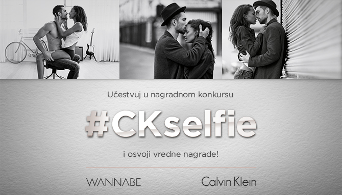 Wannabe CalvinKlein Selfie W670 Učestvuj u nagradnom konkursu #CKselfie i osvoji vredne nagrade!