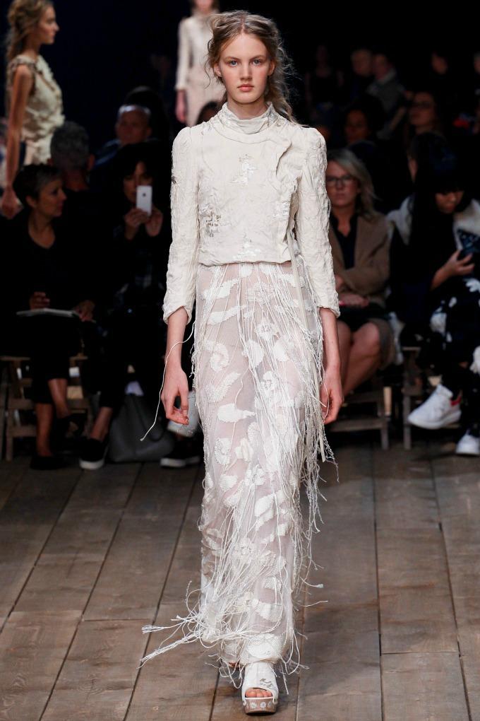 alexander mcqueen pfw 11 Modna kuća Alexander McQueen na Nedelji mode u Parizu