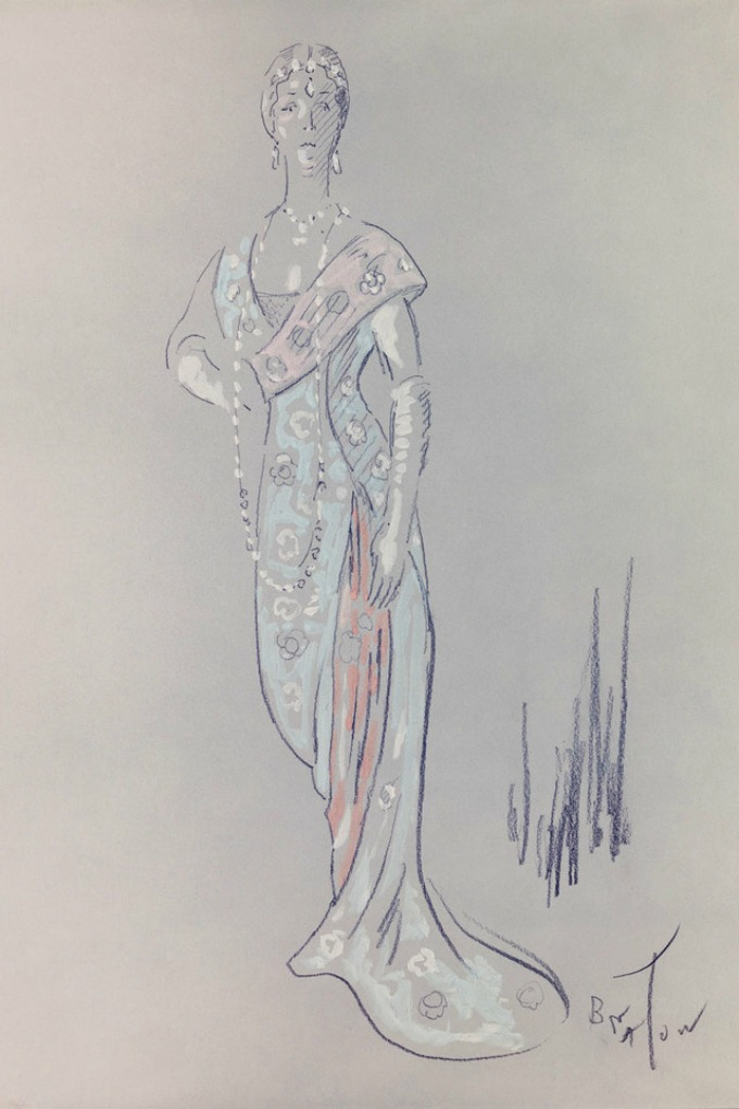 my fair lady kostimi 1 Skice kostima Odri Hepbern iz filma My Fair Lady prvi put u javnosti