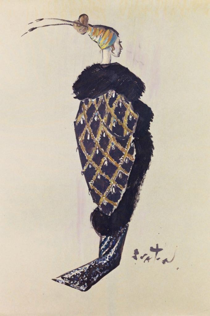 my fair lady kostimi 2 Skice kostima Odri Hepbern iz filma My Fair Lady prvi put u javnosti