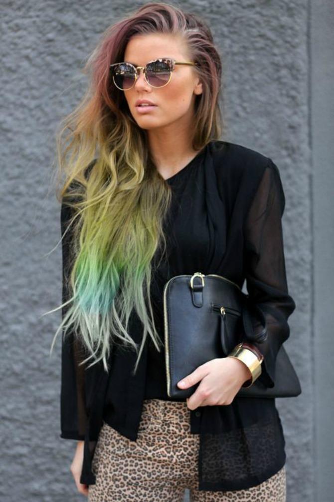 sarena kosa Načini na koje možete nositi kosu boja duge