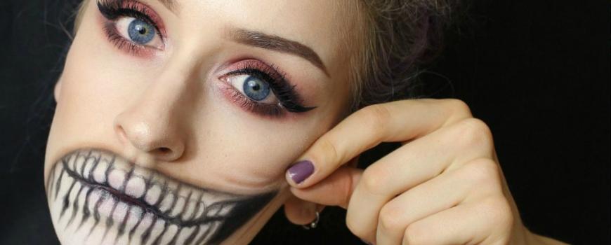 Kako da se našminkaš za Noć veštica