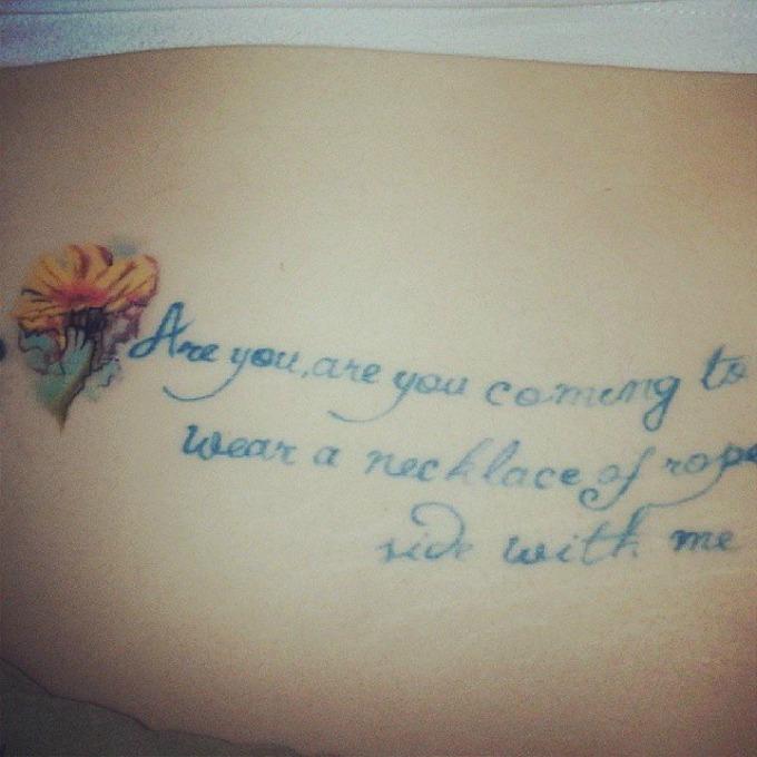 tetovaze inspirisane knjigama 5 Interesantne tetovaže inspirisane poznatim knjigama