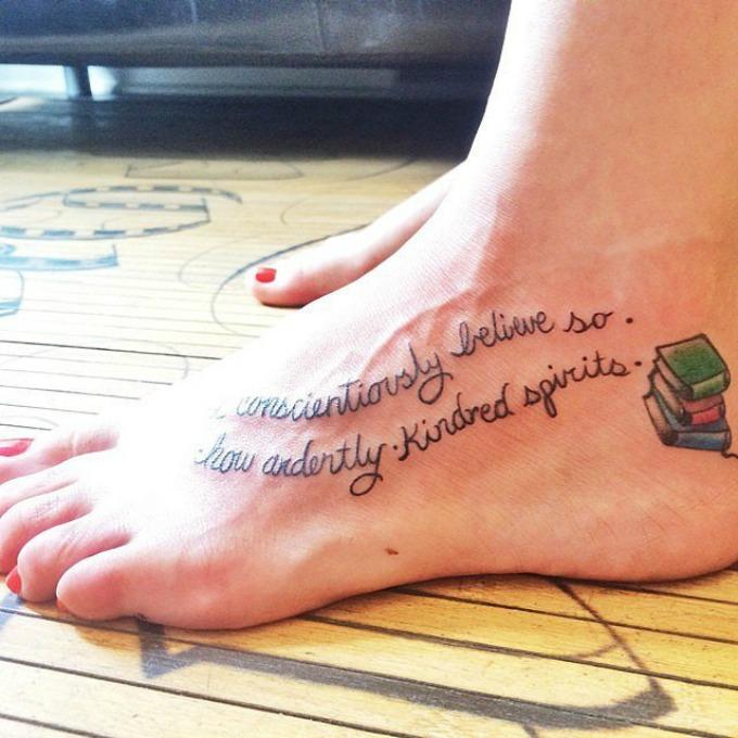 tetovaze inspirisane knjigama 8 Interesantne tetovaže inspirisane poznatim knjigama
