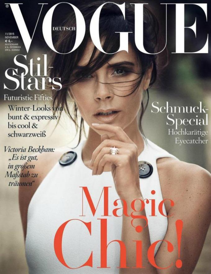 viktorija bekam nemacki vogue 1 Viktorija Bekam na naslovnici nemačkog Vogue a