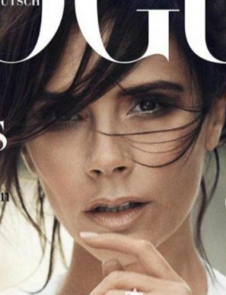 """Viktorija Bekam na naslovnici nemačkog """"Vogue""""-a"""