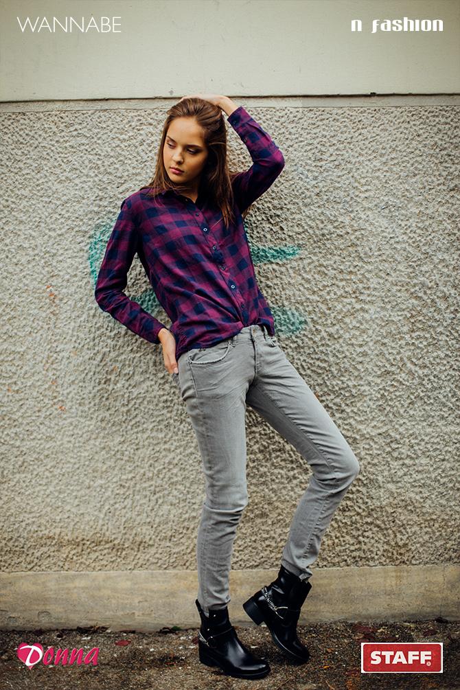 111 Modni predlog N Fashion: Karirana košulja kao jesenji must have