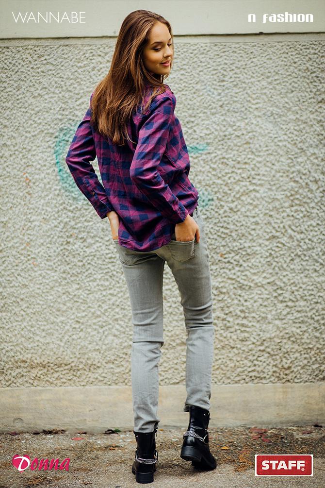 9 Modni predlog N Fashion: Karirana košulja kao jesenji must have