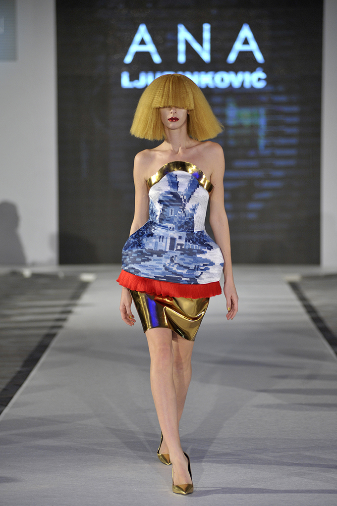 Ana Ljubinkovic 5. dan 38. BlacknEasy Fashion Week a