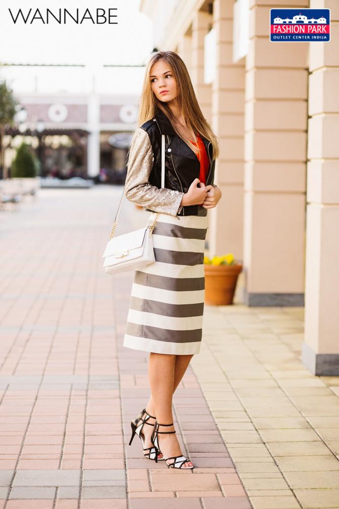 Fashion park outlet center Indjija modni predlog Wannabe magazine 12 Fashion Park Outlet Inđija modni predlog: Interesantan spoj za večernji izlazak