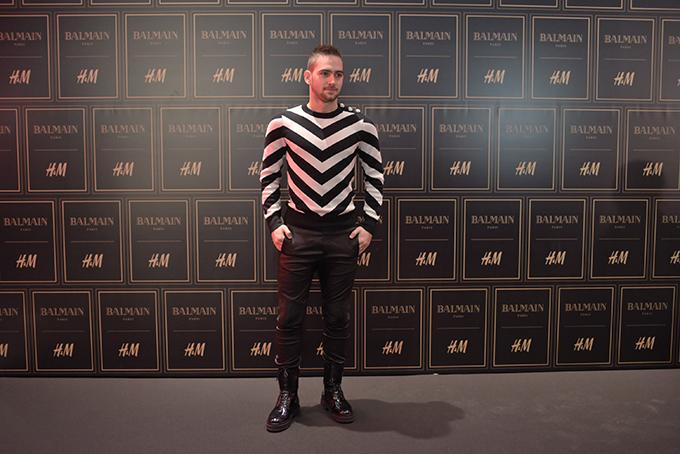 HM Balmain Andrija Zivkovic Stazama sjaja, zlata i ekstravagancije kolekcija Balmain x H&M stigla u Srbiju