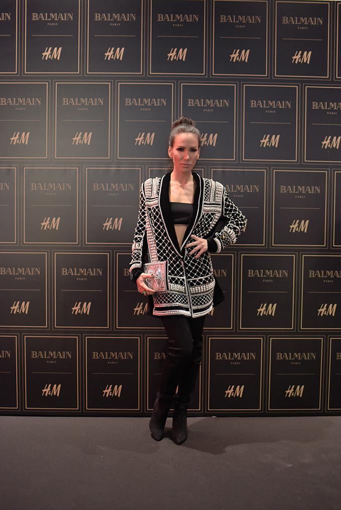 HM Balmain Nikolija Jovanovic Stazama sjaja, zlata i ekstravagancije kolekcija Balmain x H&M stigla u Srbiju