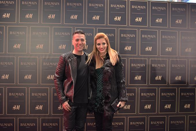 HM Balmain Zeljko i Jovana Joksimovic Stazama sjaja, zlata i ekstravagancije kolekcija Balmain x H&M stigla u Srbiju