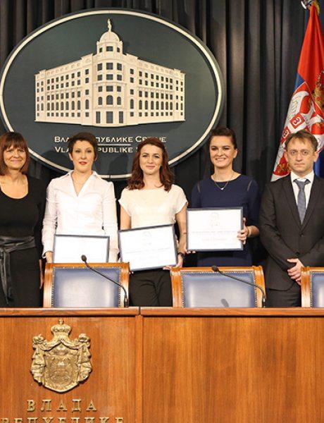 """Dodeljene stipendije """"Za žene u nauci"""" u Srbiji"""