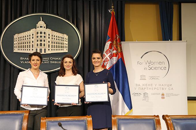 IMG 3368 Dodeljene stipendije Za žene u nauci u Srbiji