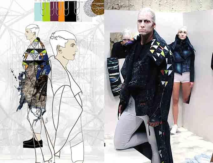 Ilustracija i model Alien Nation: Konceptualni prikaz mode budućnosti