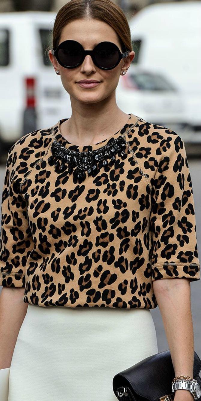 Leopard print top i suknja Leopard print koji moraš imati u svom garderoberu
