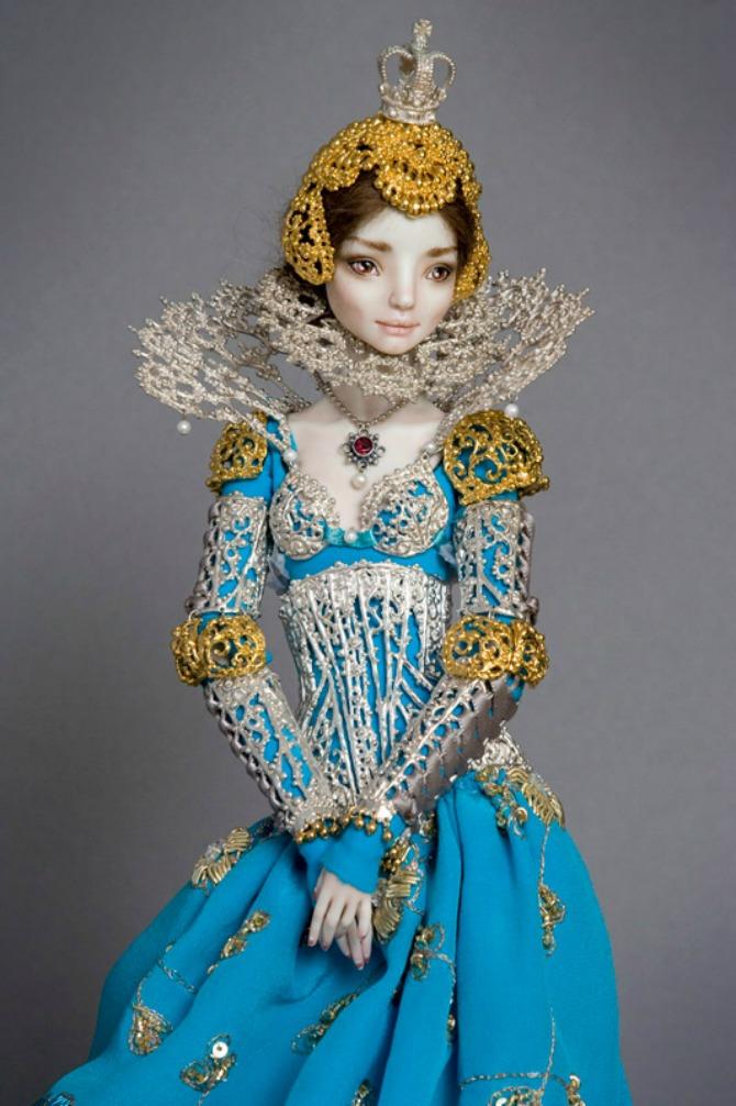 Lutka Lejdi Elizabet Betori Ove prelepe porcelanske lutke jednostavno morate videti