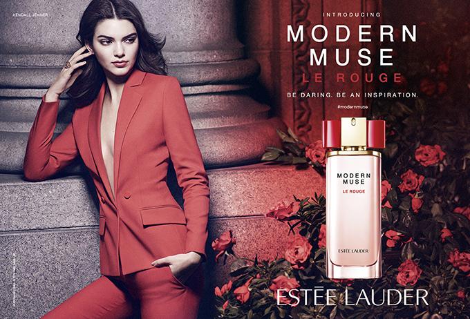 Modern Muse Le Rouge Double Page Ad Shot Final Novi miris kuće Estee Lauder: Modern Muse Le Rouge