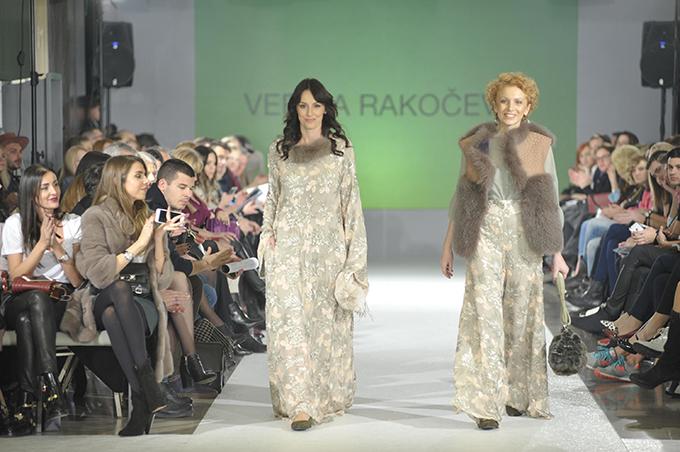 SLOBODA MICALOVIC DRAGANA COSIC by Verica Rakocevic Humanitarnom revijom otvoren 38. BlacknEasy Fashion Week