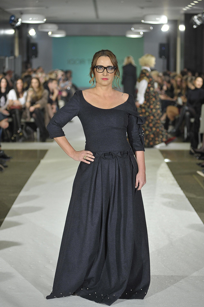 TATJANA VOJTEHOVSKI By Igor Todorovic Humanitarnom revijom otvoren 38. BlacknEasy Fashion Week
