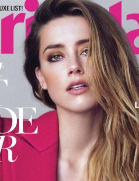 "Zanosna Amber Herd na naslovnici magazina ""Marie Claire"""