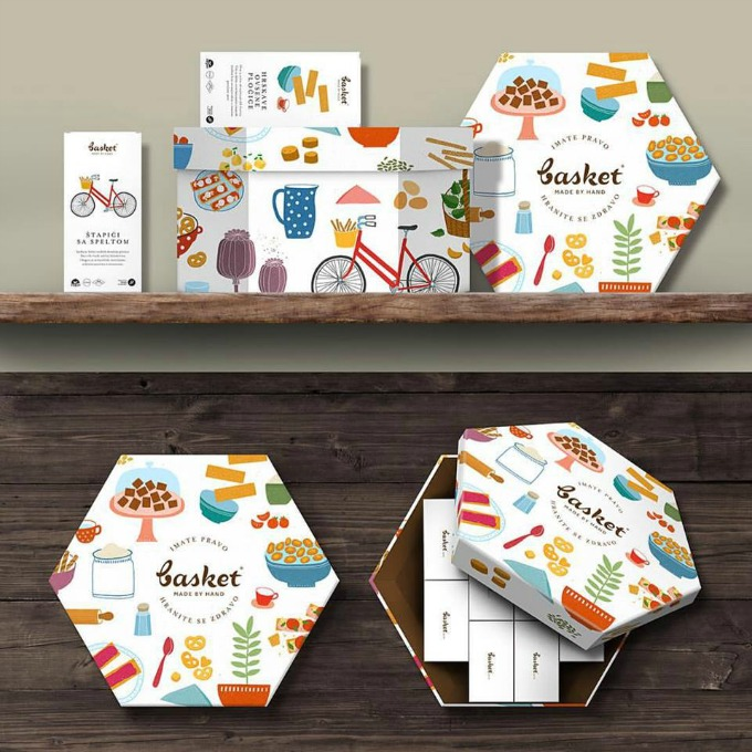 basket gift box 1 Basket Gift Box: Za svačiji ukus