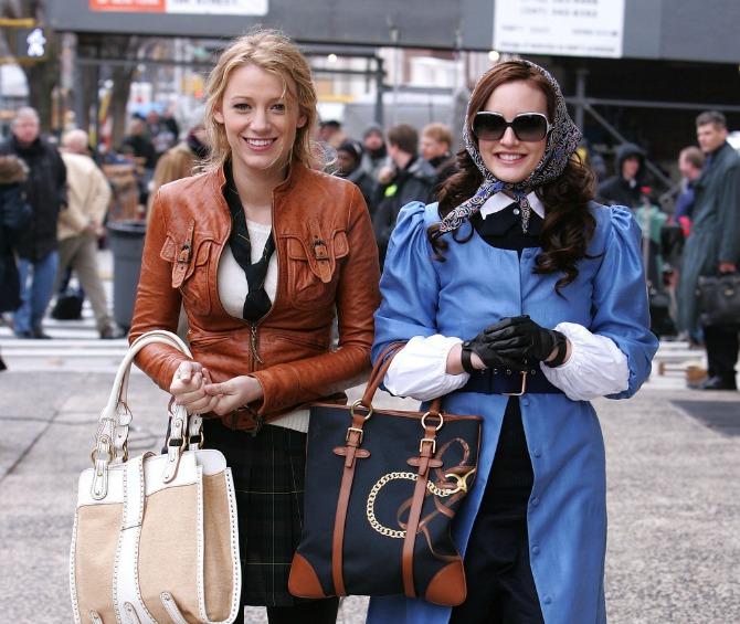 blejk lajvli kozna jakna i torba Najbolja modna izdanja Blejk Lajvli u seriji Tračara