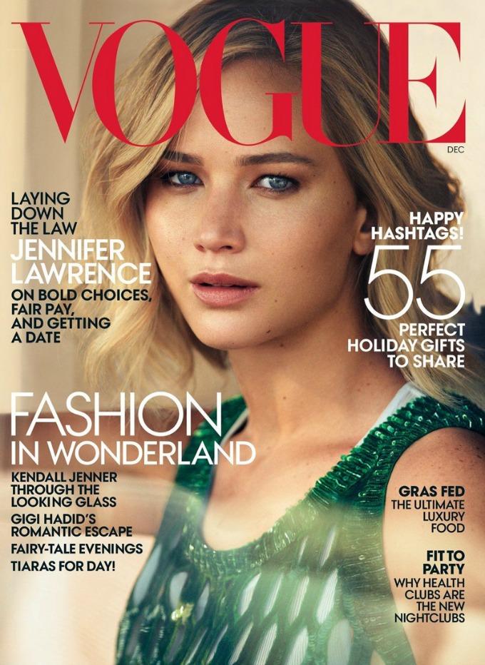 dzenifer lorens vogue us 1 Dženifer Lorens u najnovijem izdanju američkog Vogue a