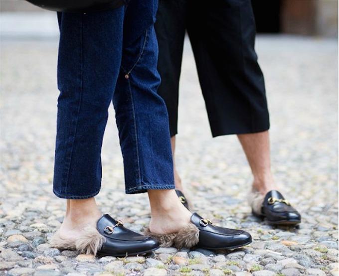 gucci krznene mokasine 1 Gucci obuća koja vas neće ostaviti ravnodušnim