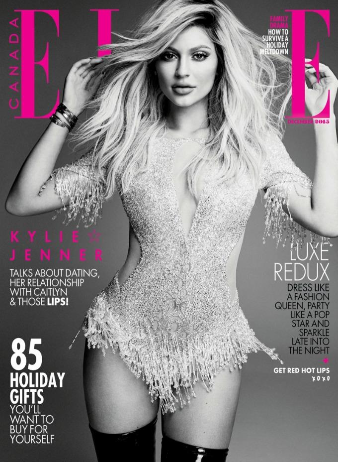 kajli dzener elle canada 1 Kajli Džener na naslovnici magazina Elle Canada