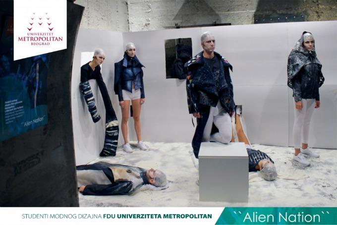 metropolitan studenti 2 Studenti modnog dizajna Univerziteta Metropolitan na Belgrade Fashion Week u