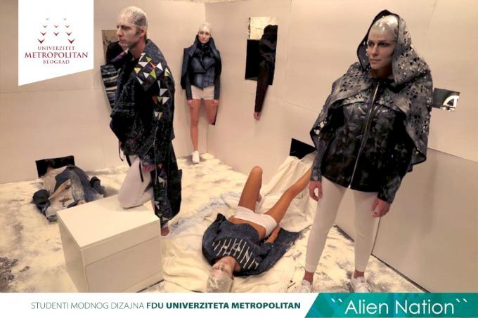 metropolitan studenti 4 Studenti modnog dizajna Univerziteta Metropolitan na Belgrade Fashion Week u