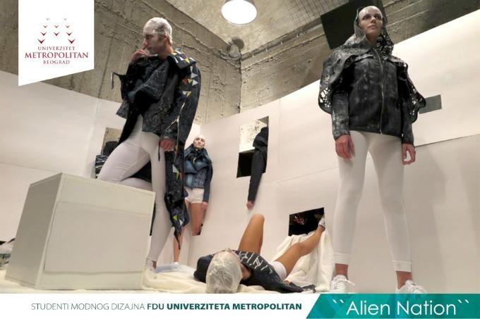 metropolitan studenti 5 Studenti modnog dizajna Univerziteta Metropolitan na Belgrade Fashion Week u