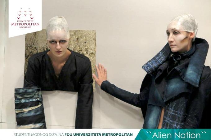 metropolitan studenti 6 Studenti modnog dizajna Univerziteta Metropolitan na Belgrade Fashion Week u